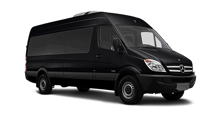 Sprinter Mercedes 9 passengers Van limo service in Seattle